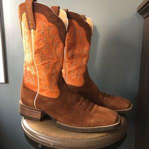 ariat chute boss western cowboy boot 12